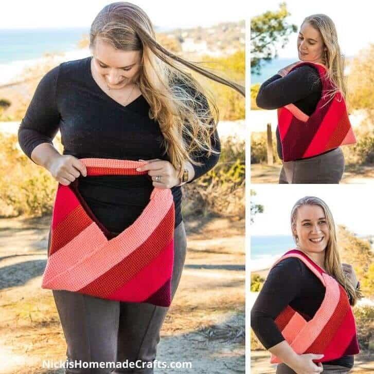 Thermal Stitch Origami Bag
