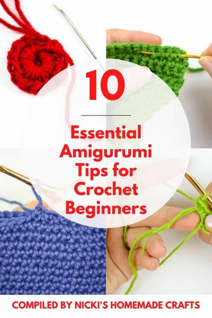 10 beginners crochet amigurumi tips