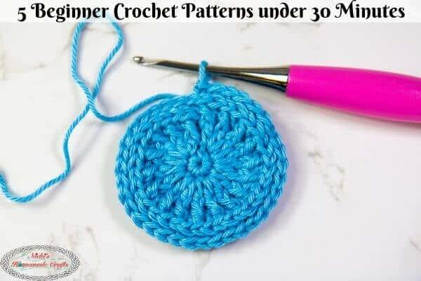 5 Beginner Crochet Patterns