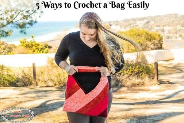 Crochet Bag Made in 5 different ways