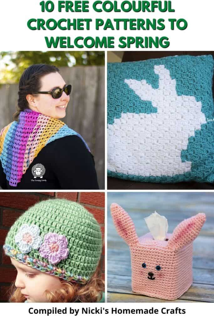 colourful crochet patterns collection