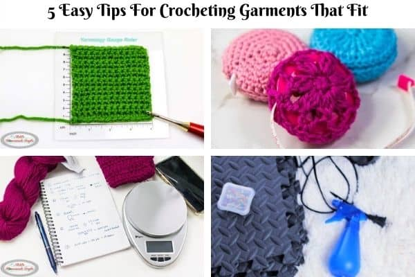 5 Easy Tips for Crocheting Garments that Fit