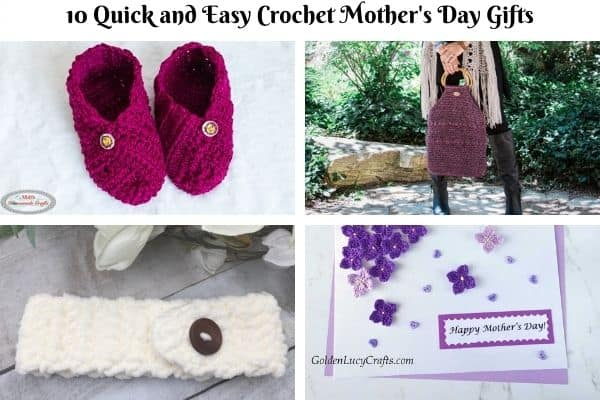 10 Quick and Easy Crochet Gifts for Mother's Day