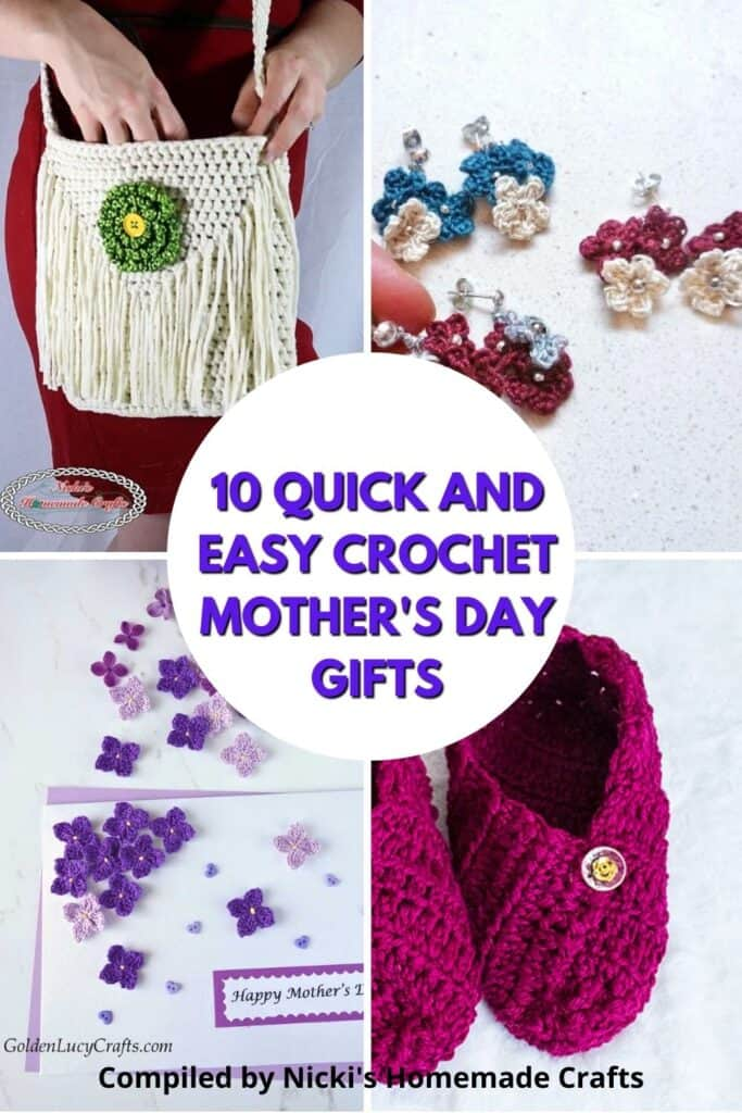 10 Quick and Easy Crochet Mother's Day Gifts