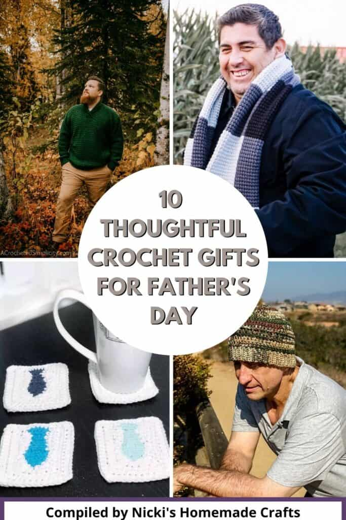 10 Crochet Gifts for Father's Day