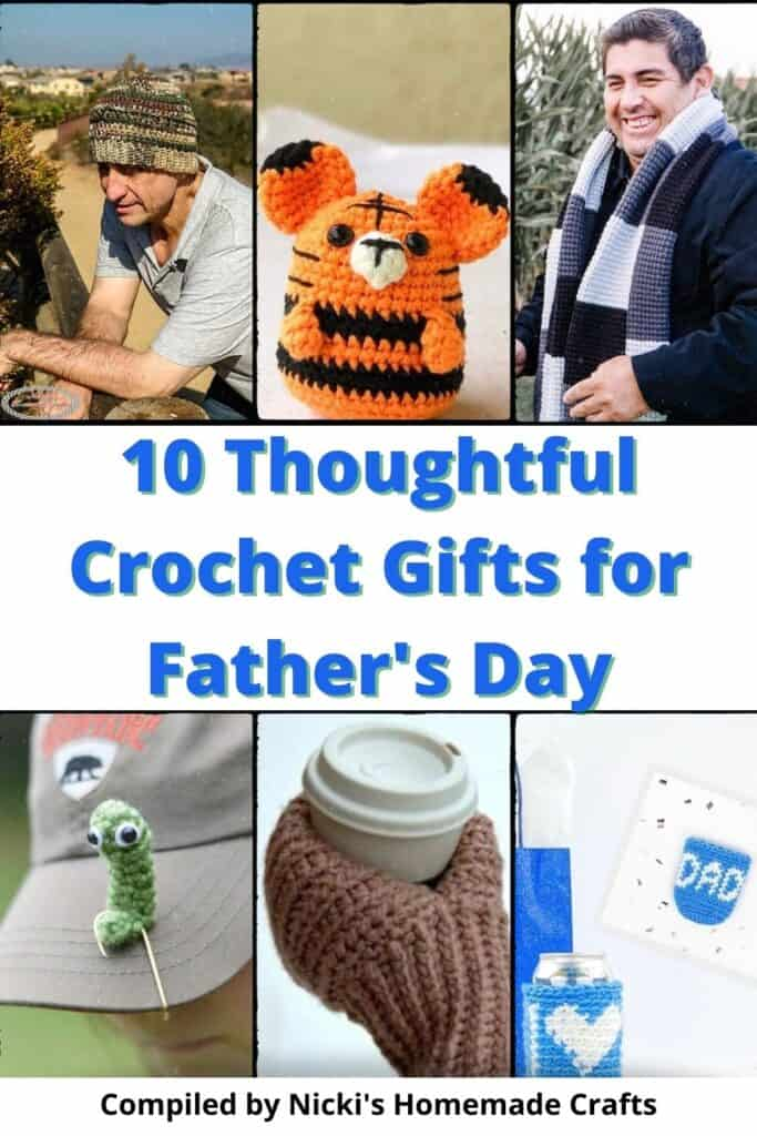 collection of 10 thoughtful Crochet Gifts for Father's Day
