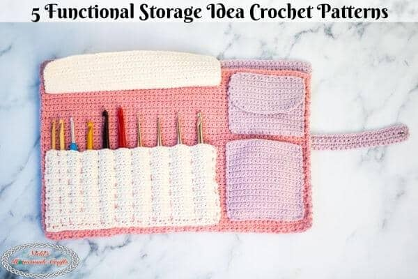 Clever Crochet Storage Ideas with these 5 Easy Patterns