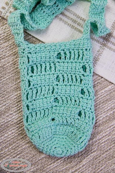 Crochet Water Bottle Holder Lacy