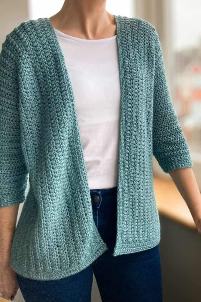 light and airy spring cardigan