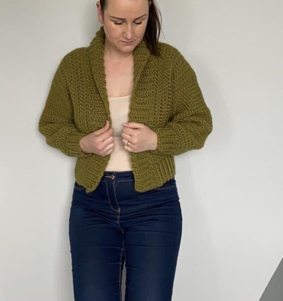 chunky crochet jacket pattern
