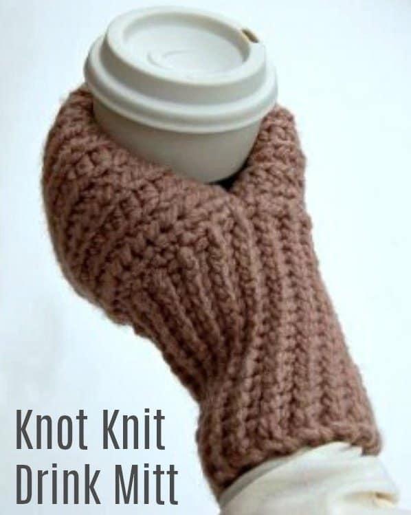 drinks mitt crochet free pattern