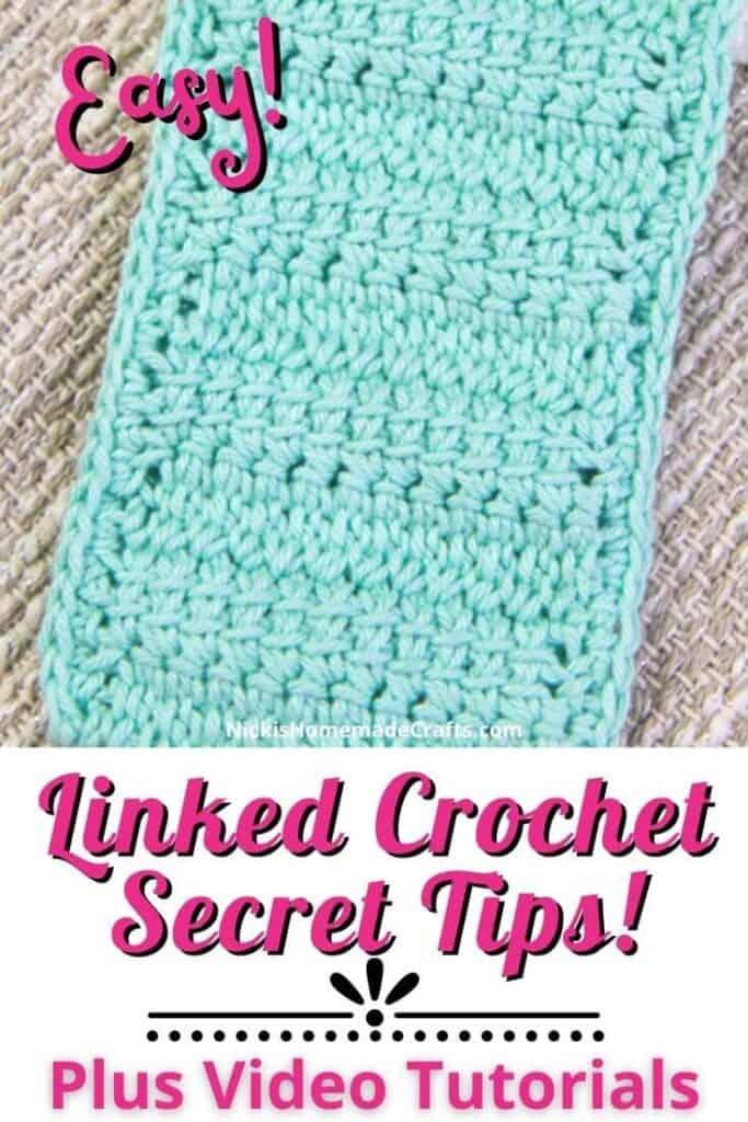 Linked Crochet Tips vs Regular Crochet 5 tips