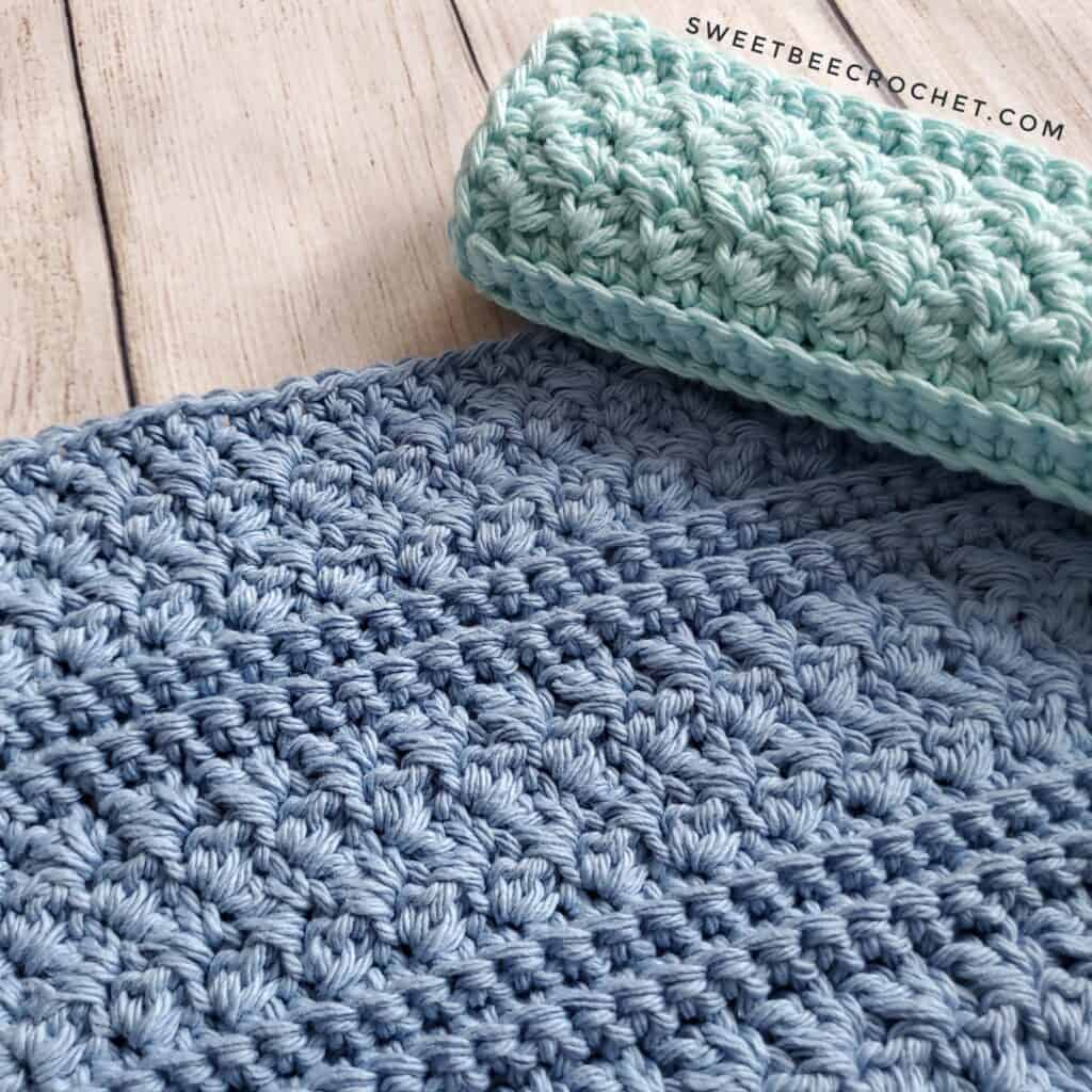 crochet washcloths for Mother's Day gift