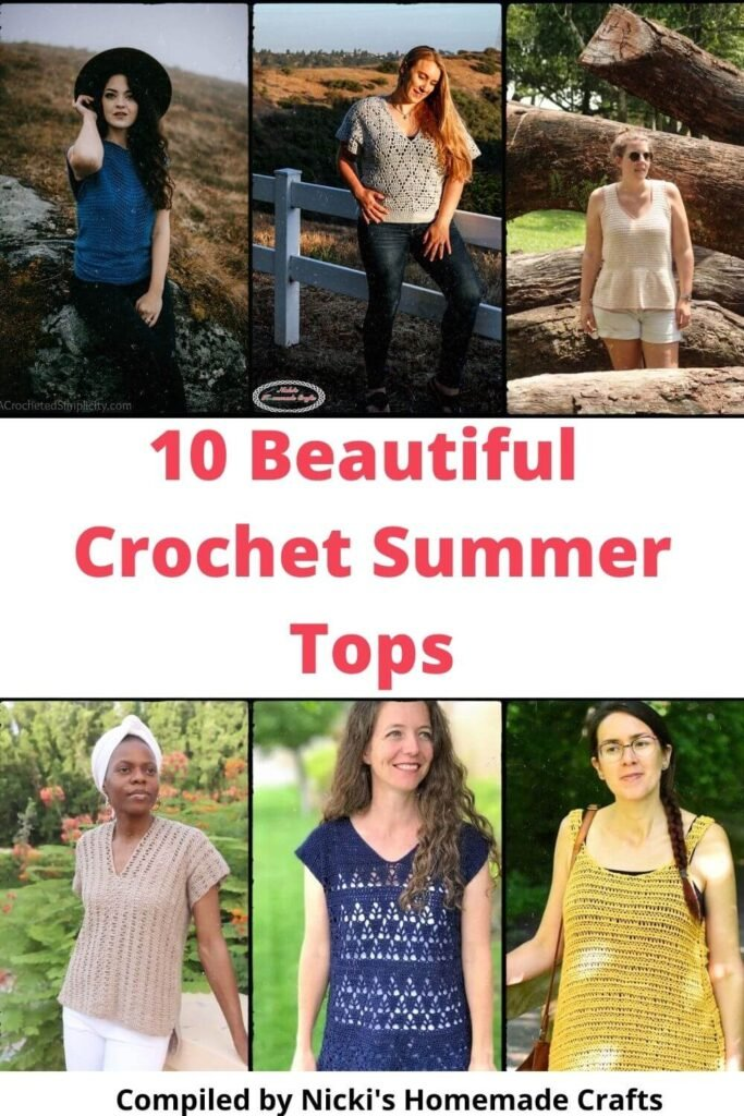 10 beautiful warm weather tops round up