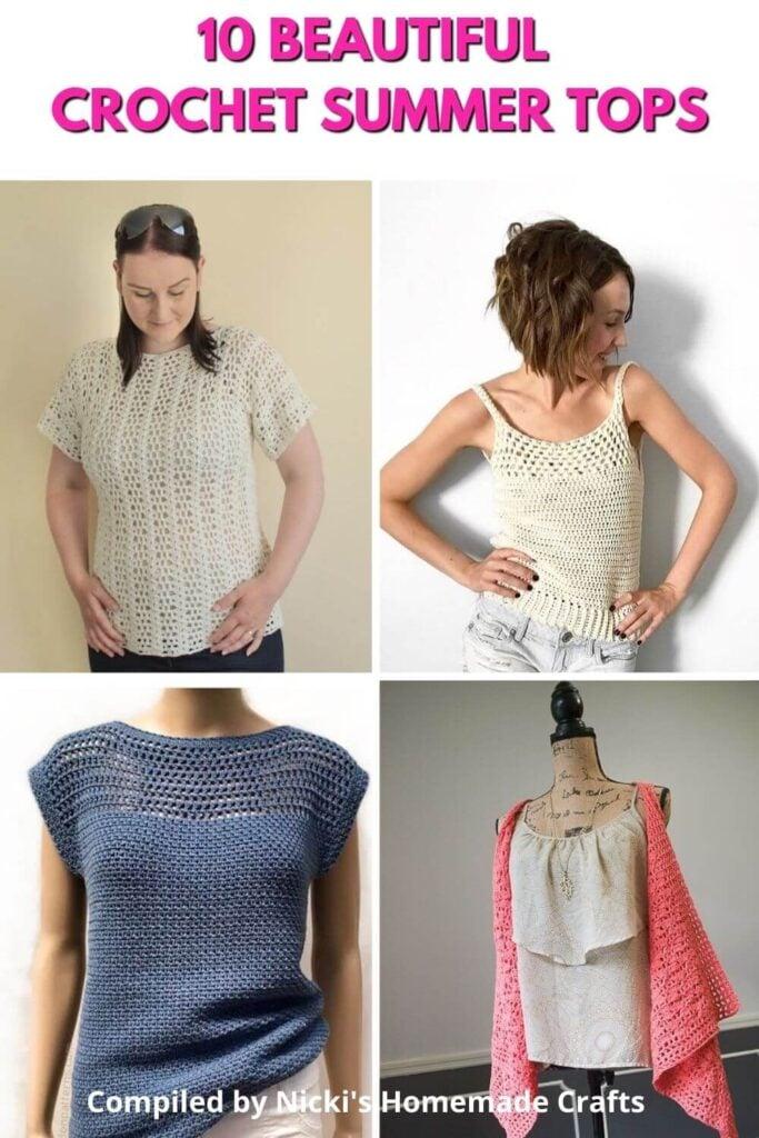 round up of handmade top patterns