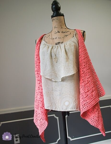 Clamshell Lace Vest