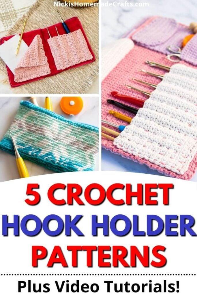Crochet Hook Storage Patterns