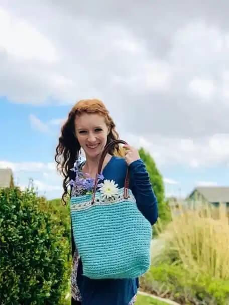 Cielo Crochet tote pattern
