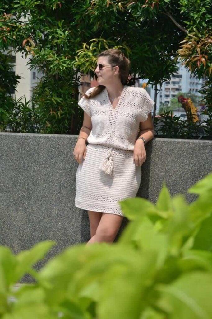 Pretty Summer Crochet Dress Pattern