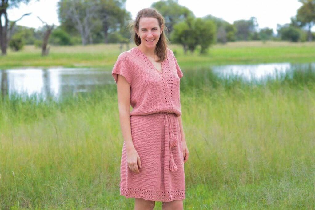 Cache Coeur Dress Pattern