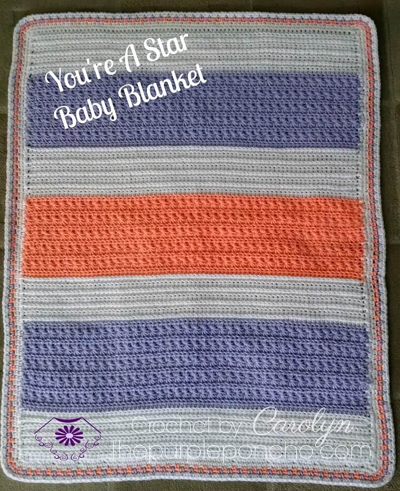 You're A Star Crochet Baby Blanket