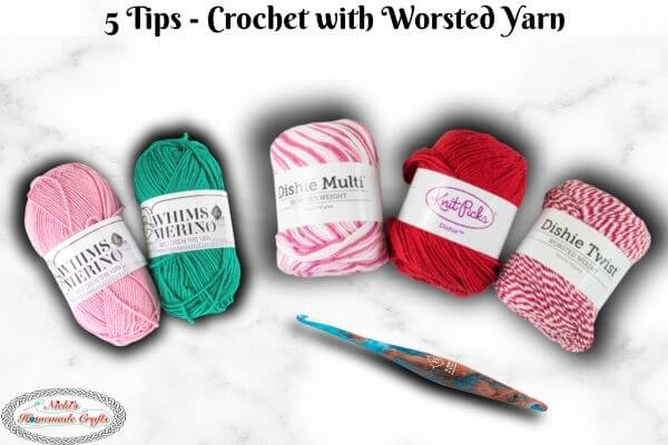 Crocheting with Worsted Weighted Yarn