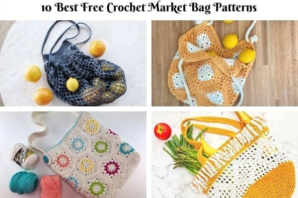 10 Best Free Crochet Market Bag Patterns