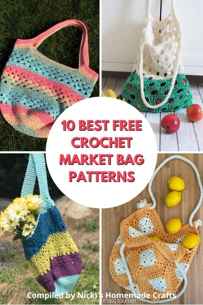 free crochet patterns for practical totes