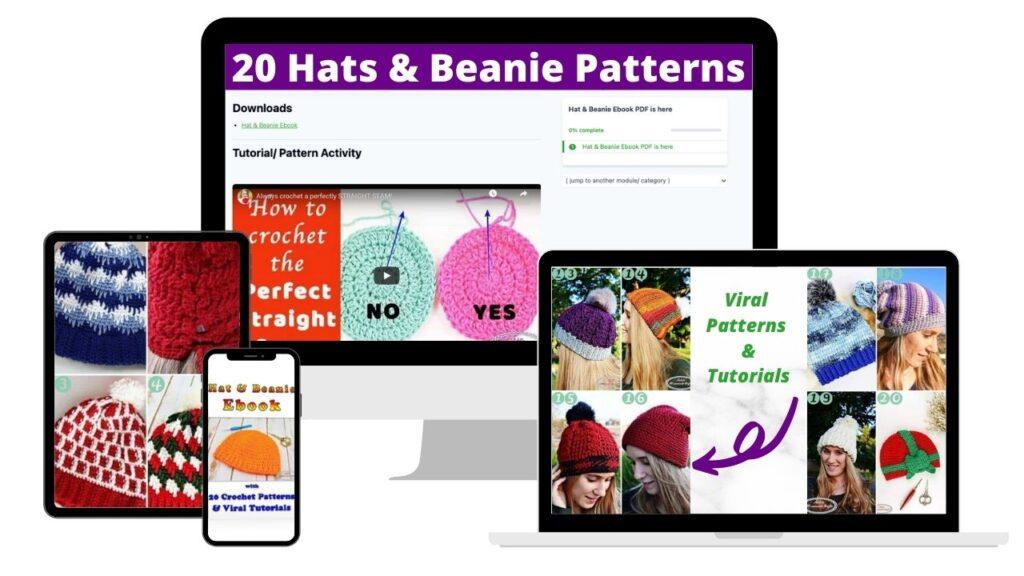 Hat & Beanie Crochet Ebook