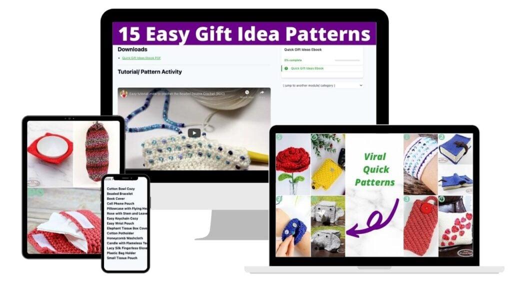 Quick Gift Idea Crochet Patterns Ebook