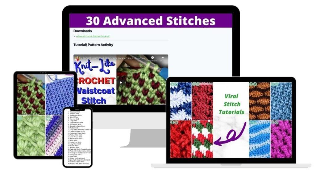 Advanced Crochet Stitches Ebook