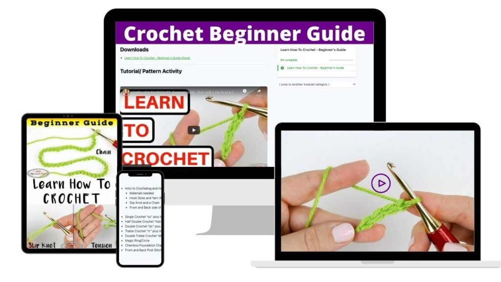 Learn to Crochet Beginner Guide
