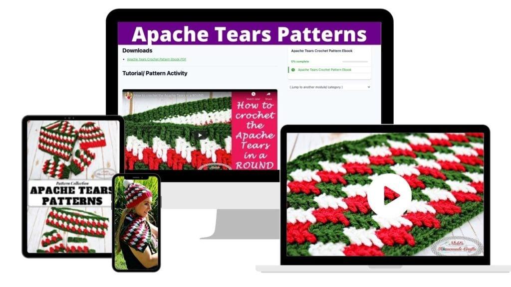 Apache Tears Crochet Patterns Ebook