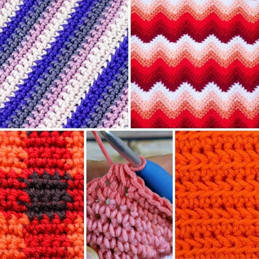 Basic Single Crochet Blanket Stitches