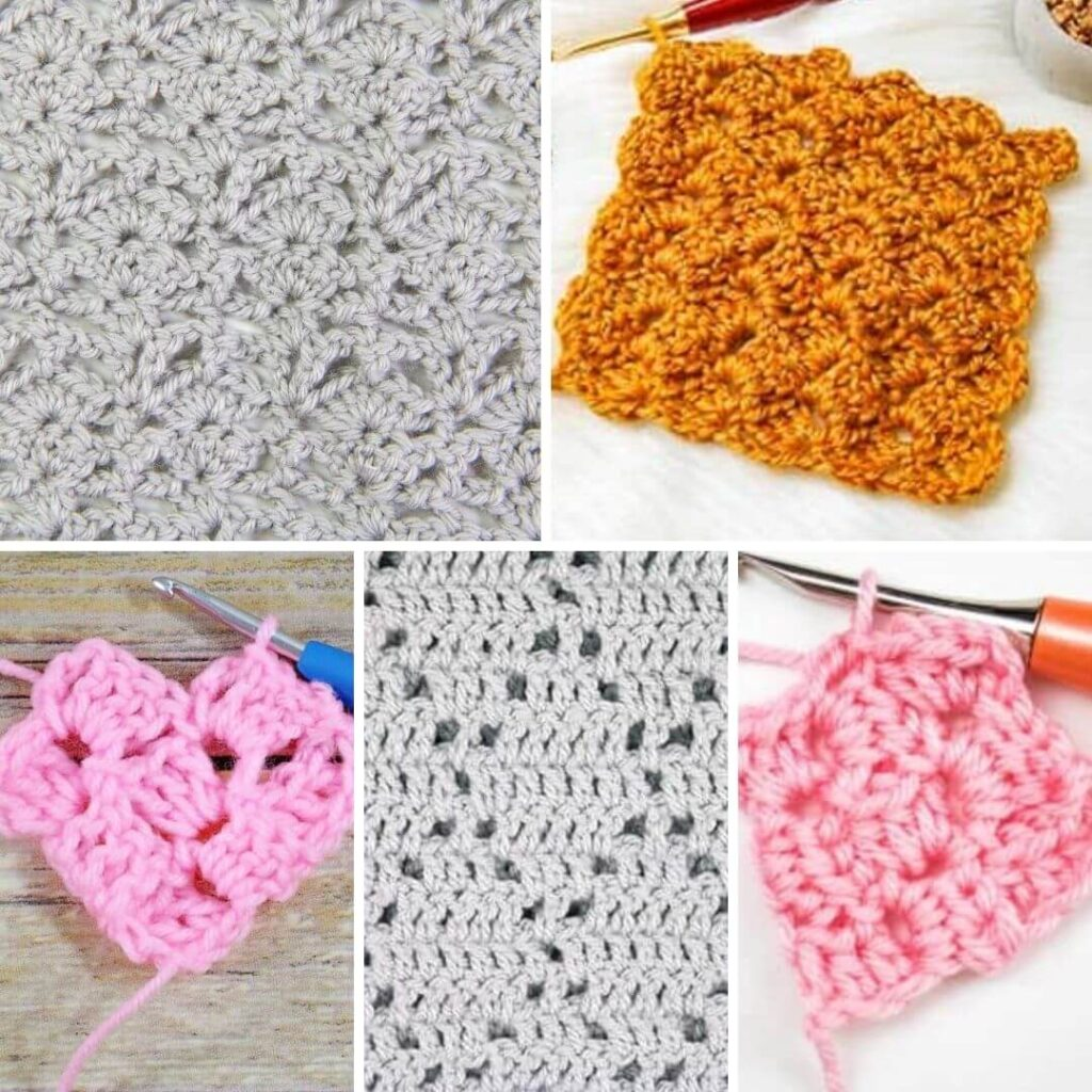 Beautiful Lace Crochet Stitches for Blankets