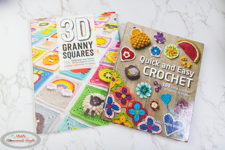 3D Granny Squares and Quick and Easy Crochet Book
