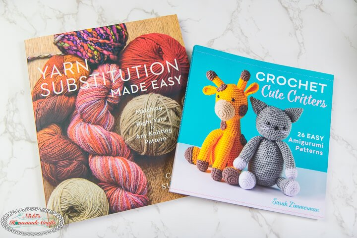 Yarn substitution made easy and crochet cute critters book