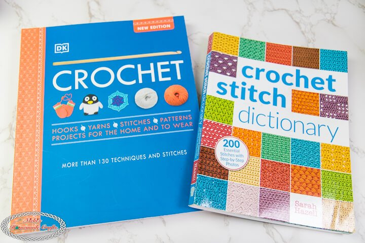 Crochet Book and Crochet stitch dictionary book