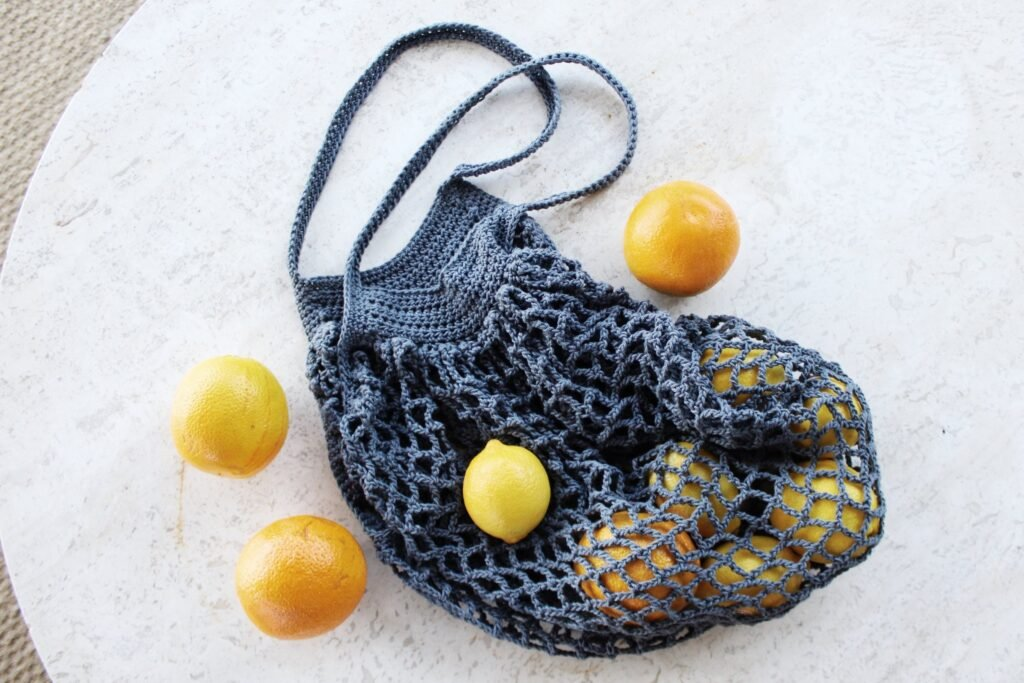 French Style Crochet Bag