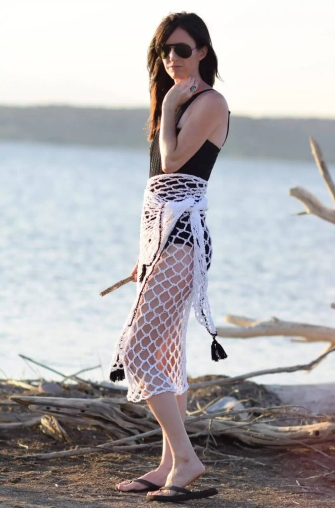 Infinite Ways Sarong Crochet Cover Up Pattern