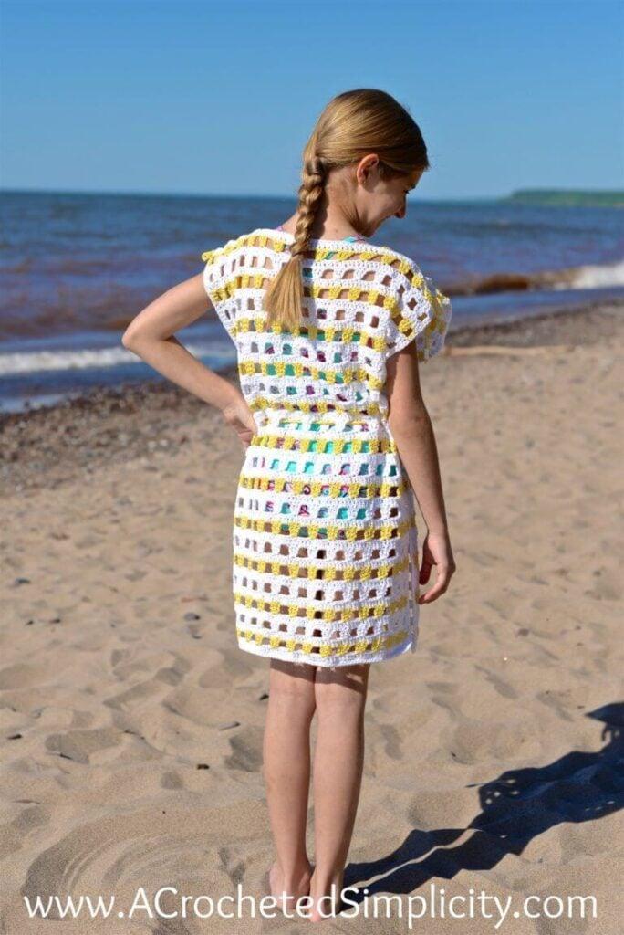 Sunny Days Crochet Beach Cover Up