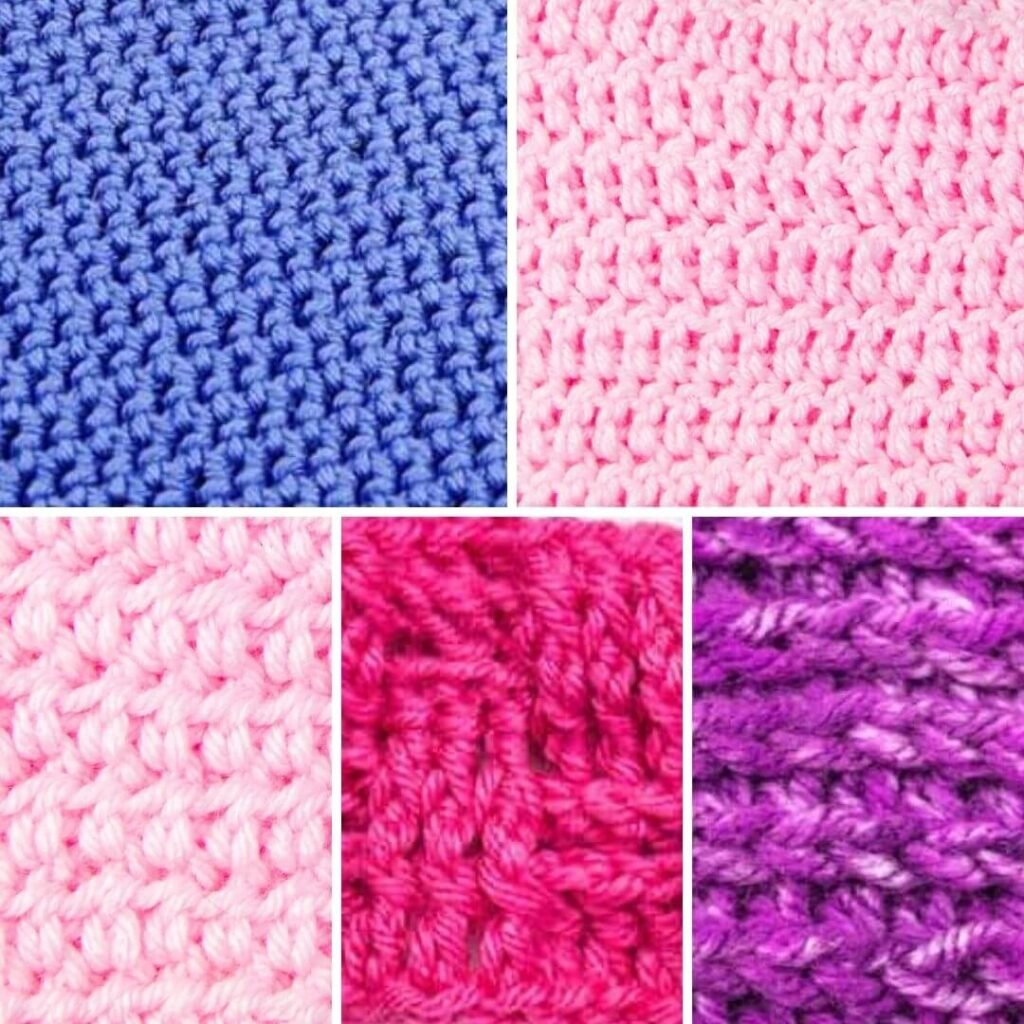 Thick Stitches for Crochet Blankets