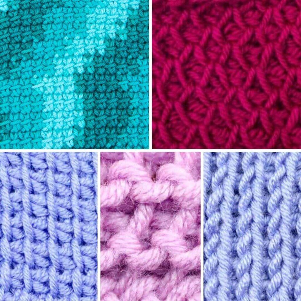 Tunisian Crochet Blanket Stitches