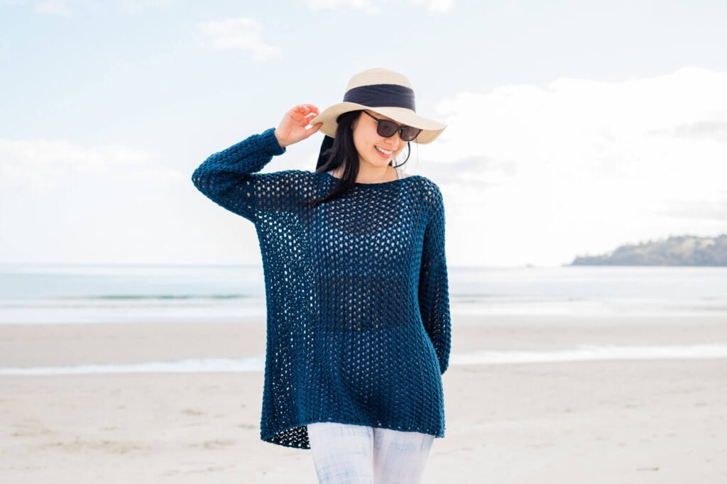 The Tide Knot Crochet Beach Cover Up