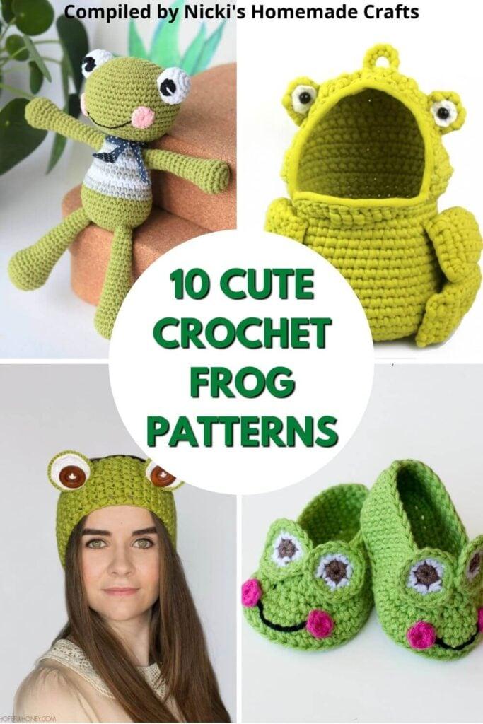 10 cute free crochet frog patterns