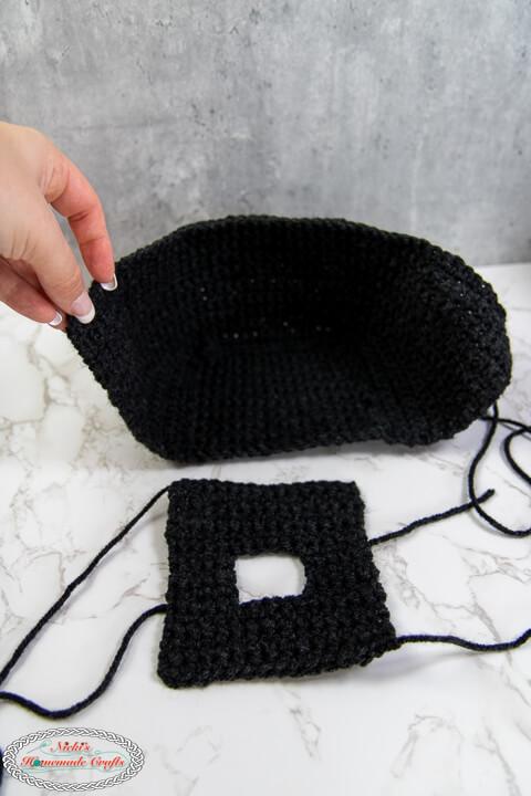Crochet Spider Parts