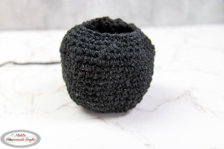 Crochet Spider Head