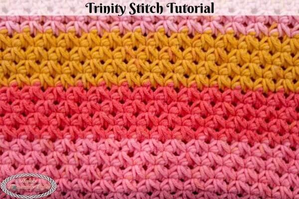 Crochet Trinity Stitch Tutorial Easy