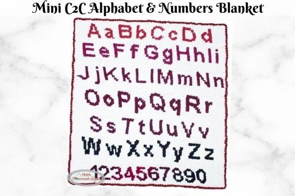 C2C Multi-Color Crochet technique