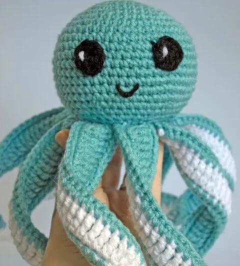 crochet Amigurumi Baby Toy